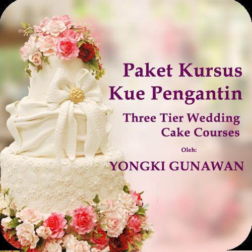 Yongki Gunawan com Kursus Memasak membuat Kue Paket