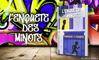 Livre : L'enquête des Minots •• Camille Lacombe
