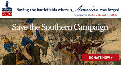 Save Southern Campaign Battlefields from the American Revolution!