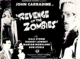 Película La venganza de los zombies Online