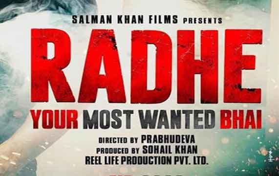 Radhe most wanted bhai