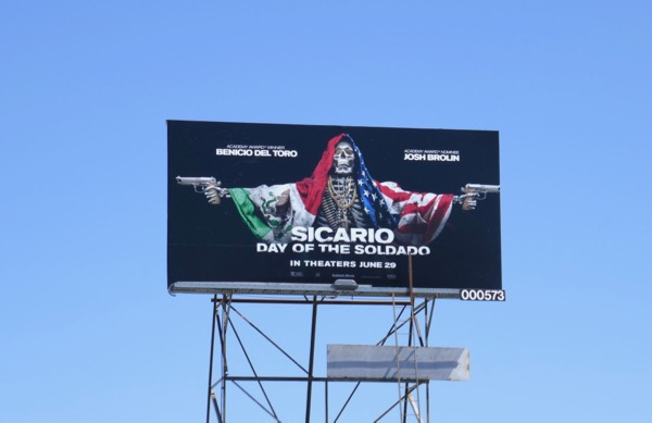 Sicario Day Soldado billboard