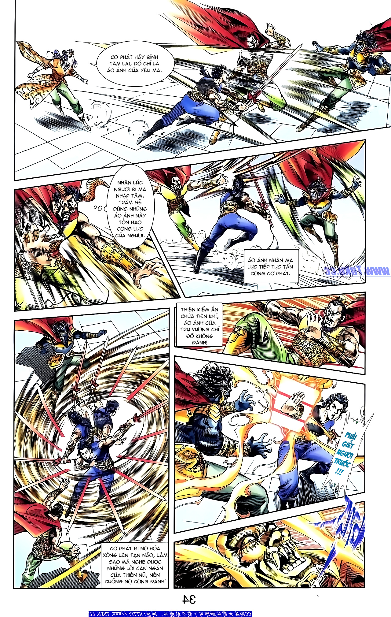 Cơ Phát Khai Chu Bản chapter 153 trang 18