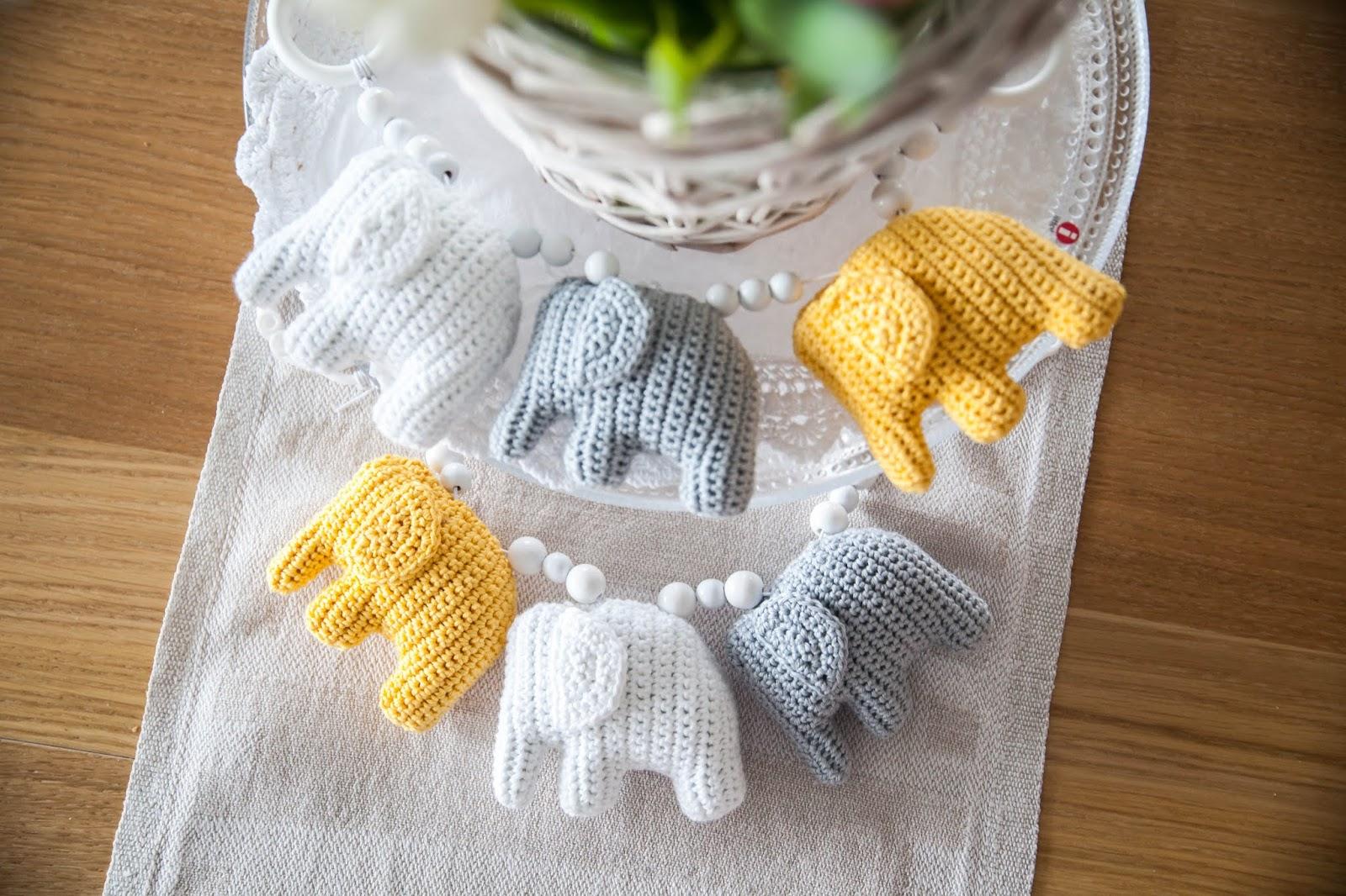 vaunulelu norsu virkkaaminen crochet