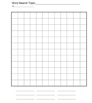 create your own word search template create your own word search archives esl kids games
