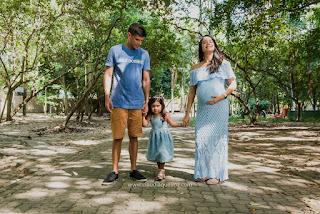 Ensaio gestante Sayuri + família