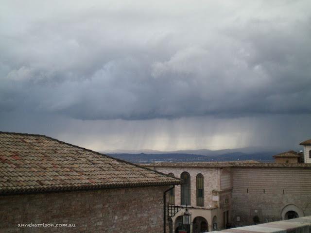 Dawn in Assisi