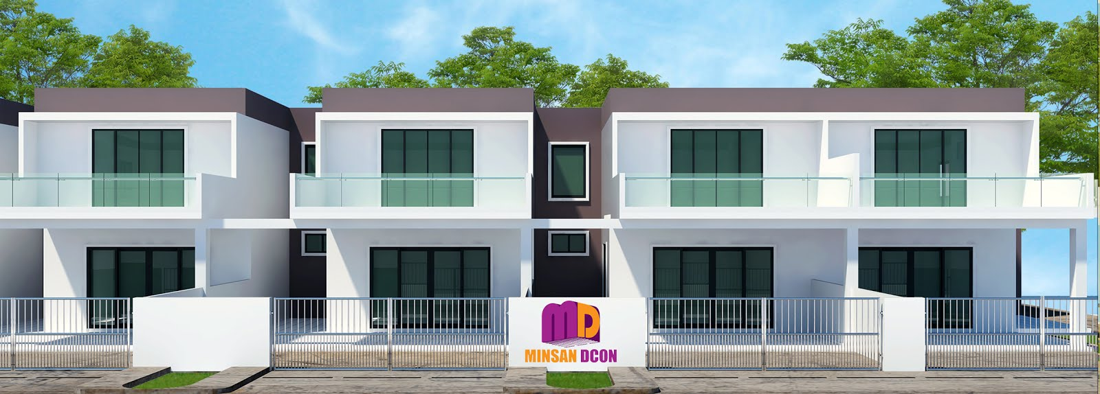 Affordable double storey terraced houses semi detached for 3 storey terrace house