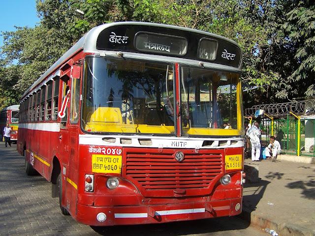 Bus à Bombay