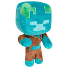 Minecraft Drowned Jinx 7 Inch Plush