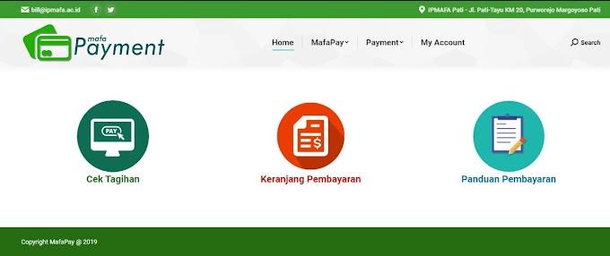 Panduan Registrasi Mahasiswa Baru Melalui Mafapay - Via Desktop