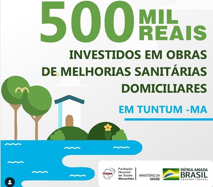 GOVERNO BOLSONARO! Agora é a vez de Tuntum-Maranhão, ser beneficiado