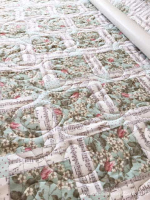 Fabscraps Vintage Elegance Quilt made by Jilly, quilted by Frances Meredith, Fabadashery Longarm Quilting