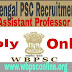 West Bengal PSC Recruitment 2017 - Apply Online For 254 Assistant Professor Post