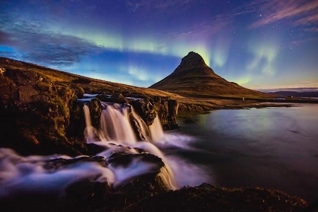 Kirkjufell, Iceland, - by Huper by Joshua Earle on Unsplash