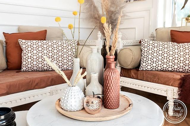 Terracotta-Look: Vase mit Backpulver und Farbe upcyceln