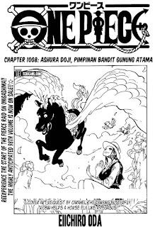 Update! Baca Manga One Piece Chapter 1008 Full Sub Indo