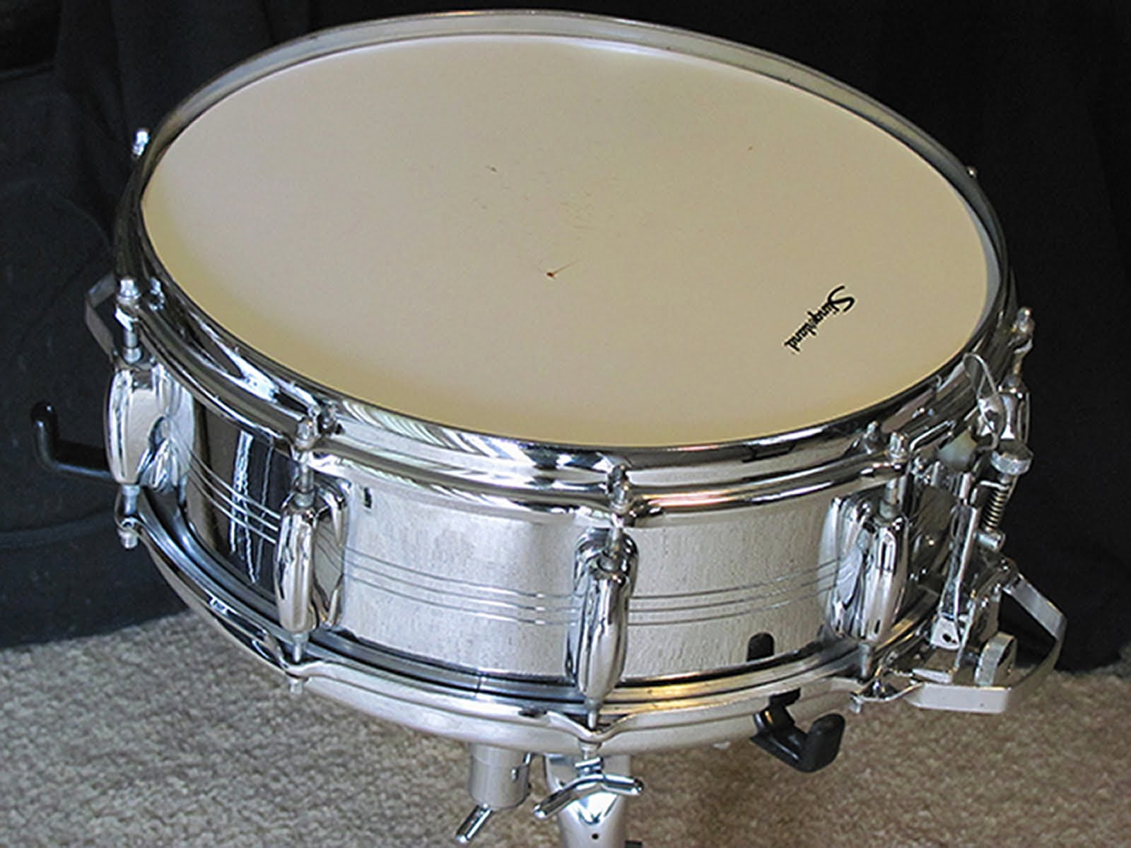 Crash Boom Bam: The Slingerland Super Sound King Snare Drum
