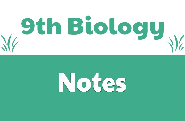 9th Class Biology Complete Notes Pdf Download- Matric part 1