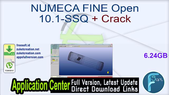 NUMECA FINE Open 10.1-SSQ + Crack
