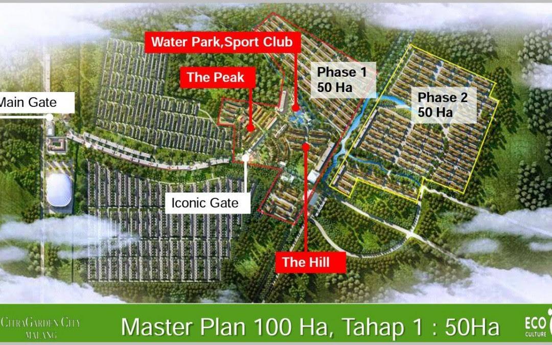 Rumah Putih Citra Garden City Malang Perumahan 100 Ha Dari Ciputra Group