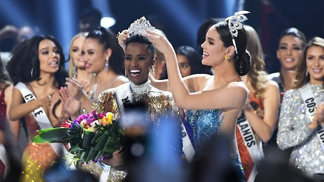 Miss Universe is the black beauty of Africa