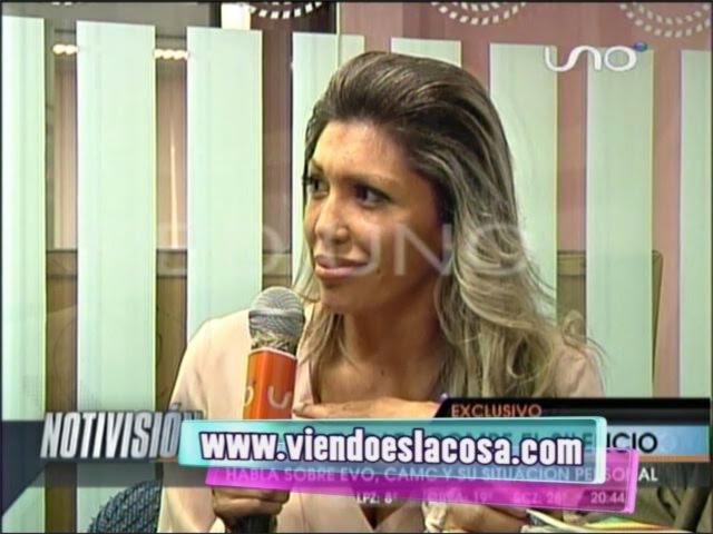 DRA. GABRIELA ZAPATA REAPARECE EN ENTREVISTA DE LA RED UNO