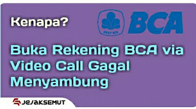 Video Call BCA sulit menyambung