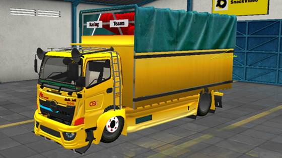 Mod Truck Hino 500 Muatan Cabe