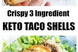 Crispy Keto Taco Shells Recipe