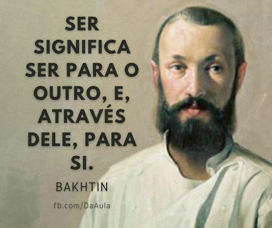 Quem foi Bakhtin (Mikhail Mikhailovich Bakhtin)