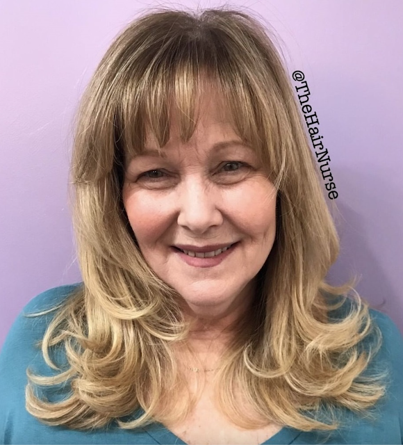 youthful hairstyles over 50