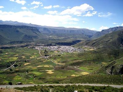 Foto al Valle del Colca - Arequipa de día