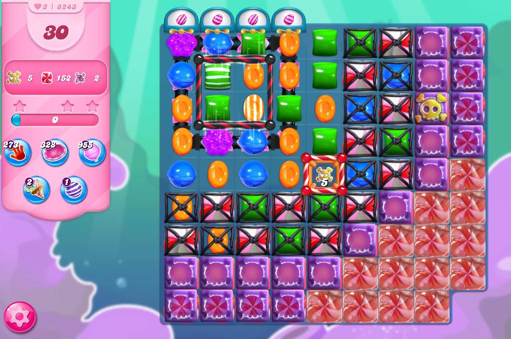 Candy Crush Saga level 8243