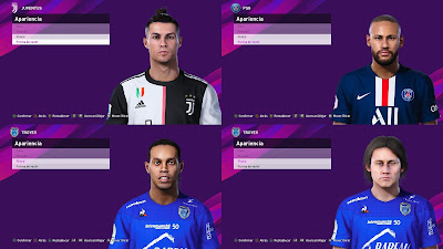 PES 2020 Extracted Facepack DLC 6.0