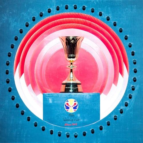 Το τρόπαιο του Παγκοσμίου Κυπέλλου Ανδρών στο Ηράκλειο