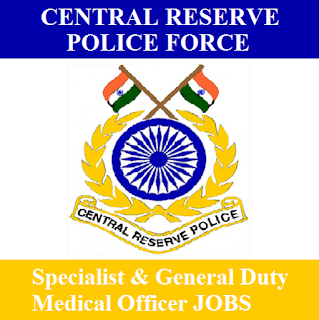 Central Reserve Police Force, CRPF, Force, MO, Medical Officer, Specialist, Graduation, Maharashtra, freejobalert, Sarkari Naukri, Latest Jobs, crpf logo