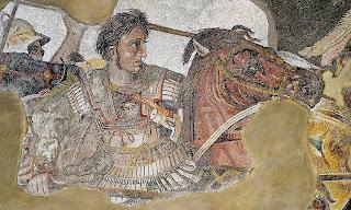 Όταν ο Μέγας Αλέξανδρος τρέχει αναβαίνει στα τείχη και μάχεται πρώτος και μόνος στην πολιορκία των Μαλλών