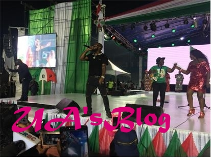 Photo Of Davido Thrilling Delegates With His Performance At The PDP National Convention