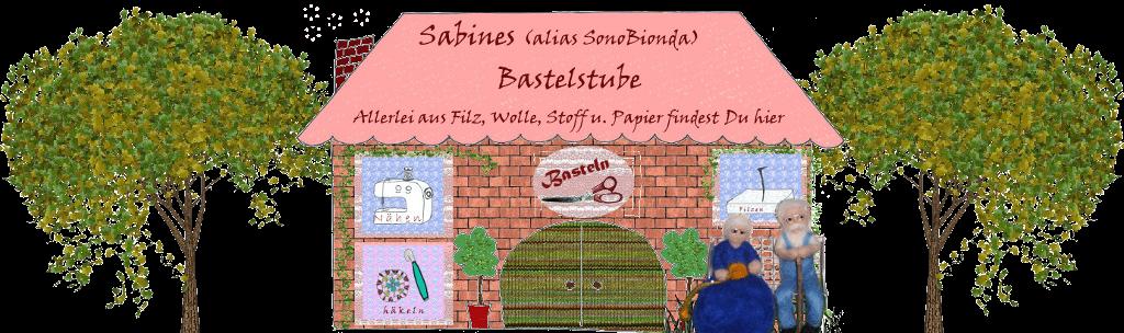 Sabines Bastelstube: Hausschuhe stricken und filzen