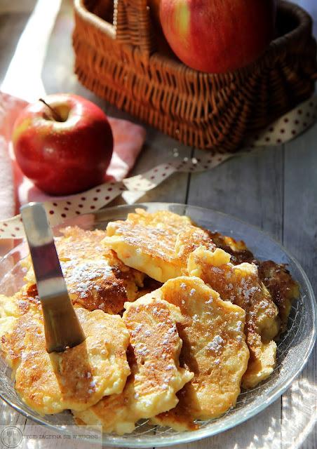 Placuszki z jabłkami wg Ani Starmach