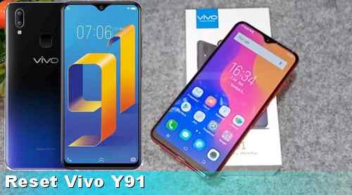 factory reset HP VIVO Y91