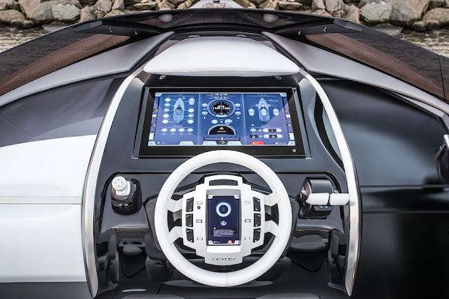 レクサス、高級オープンクルーザー「スポーツヨット・コンセプト」を公開。