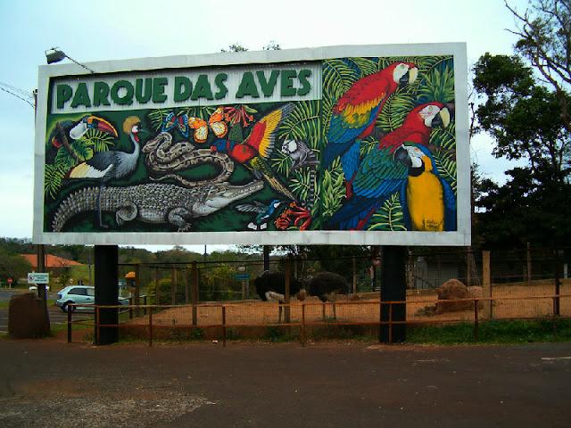 3 passeios imperdiveis em Foz do Iguaçu: Parque das aves