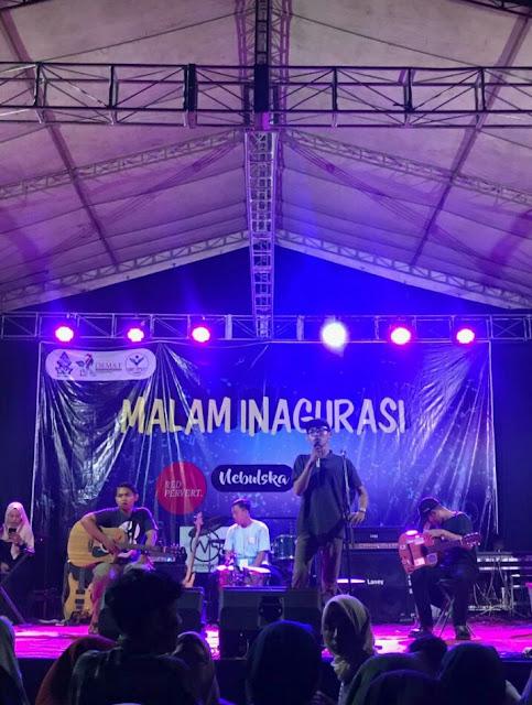 Unjuk Gigi Band Lokal di Malam Inagurasi