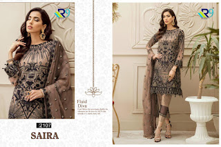 R9 Designer Saira Georgette Pakistani Suits Collection