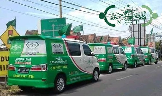 17 Ambulans Gratis dari Koin NU Bantul