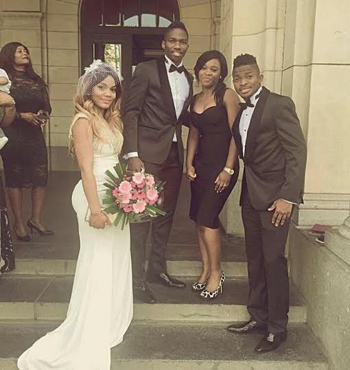Super Eagle player Lucky Omeruo wed her woman today.2222