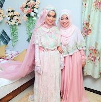 38 Baju Pengantin Muslim Warna Terfavorit Model Terupdate Model