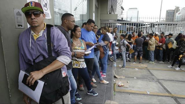 El número de venezolanos que ingresan a Perú por la frontera con Ecuador aumentó a 5.400 por día